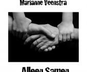 Alleen samen met muziek voelt Marianne Veenstra zich goed