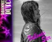 Anneke Folkersma aanschouwt een Vallende ster in Veendam