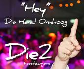 Zet de muziek maar hard van Die2, ga van start en gooi die hand omhoog